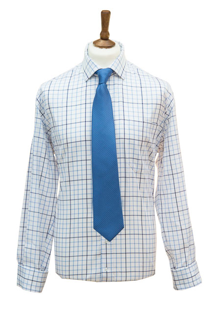 Check Shirt in Blue Navy
