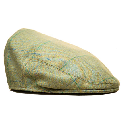 Flat Cap in Pear Green